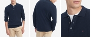 Tommy Hilfiger Men's Regular-Fit Textured Sweater-Knit Polo Shirt
